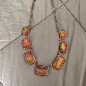 Jewelry - Pink square necklace